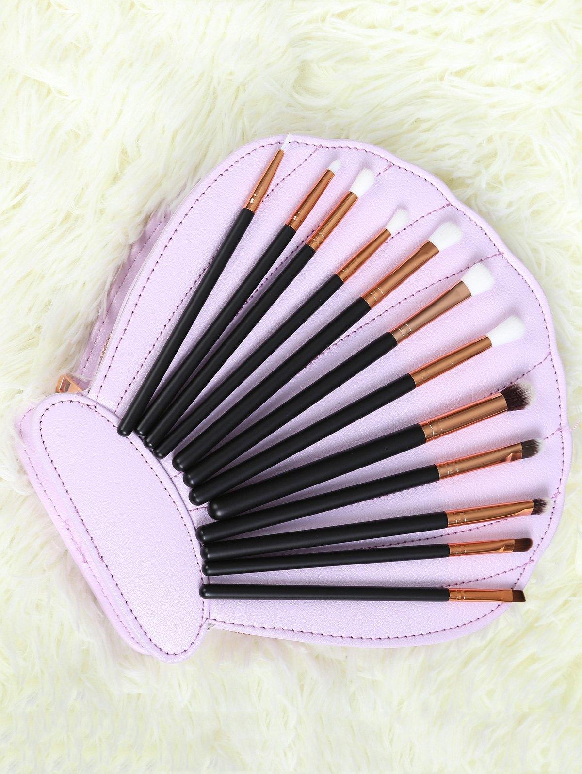 12 Pcs Nylon Eye Makeup Brushes Set