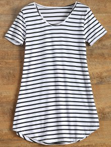Stripes Tunic T-Shirt - Stripe