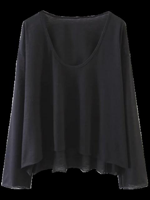 T-shirt swing à manches longues - Noir M Mobile