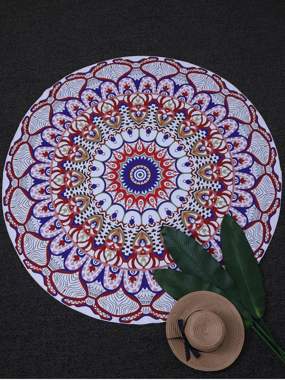 Throw tapiz Yoga Mat Círculo Beach - Colormix Única Talla