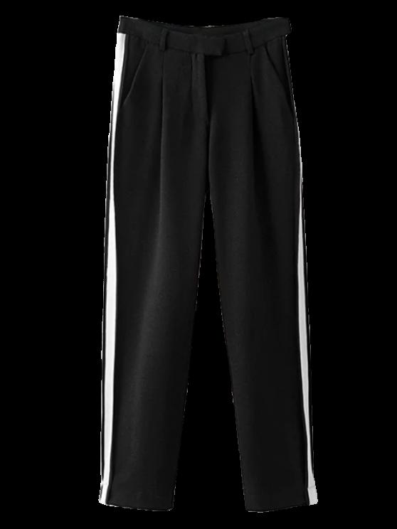 Pantalones Color Block Activewear - Negro S