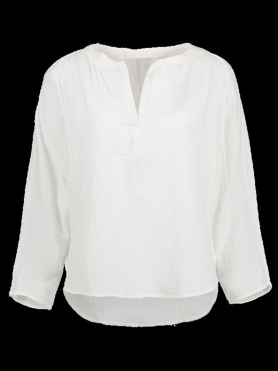 De mayor a menor Blusa - Blanco L