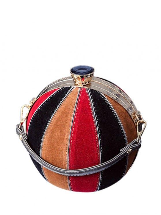 Color Block Spherical Evening Bag - COLORMIX  Mobile