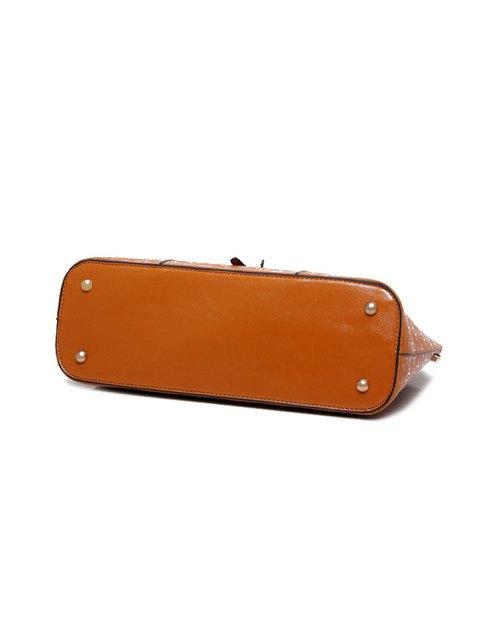 best 4PCS Embossed Handbag Set - BLACK  Mobile
