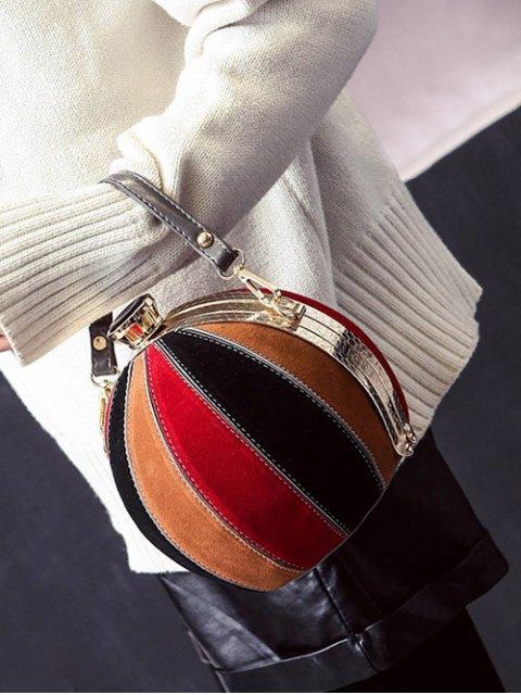 shop Color Block Spherical Evening Bag - COLORMIX  Mobile