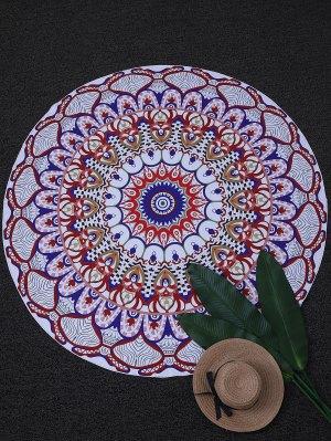 Tapestry Yoga Mat Circle Beach Throw