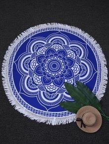 Tapestry Circle Mandala Beach Throw