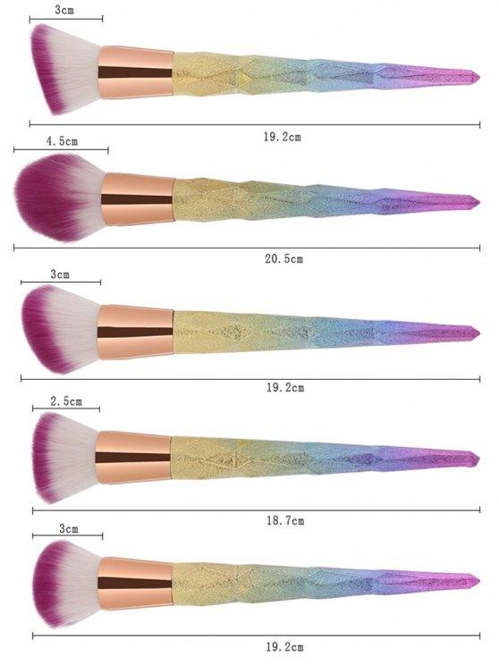 Glittler Makeup Brushes Set - ROSE GOLD  Mobile