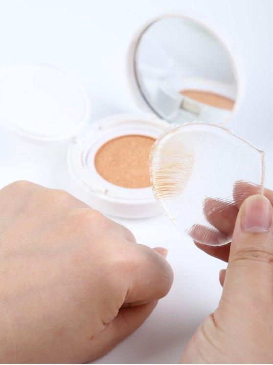 Teardrop Silicone Makeup Sponge - TRANSPARENT  Mobile
