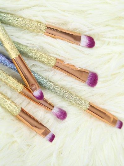 Glittle Eye Makeup Brushes Set - ROSE GOLD  Mobile