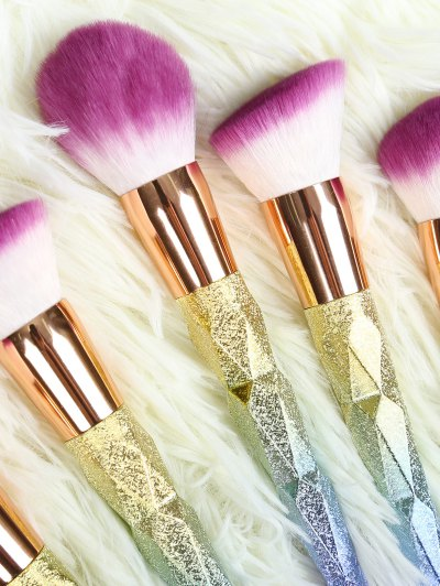 Glittle Makeup Brushes Set - ROSE GOLD  Mobile