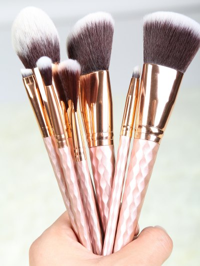 8 Pcs Makeup Brushes Set - ROSE GOLD  Mobile