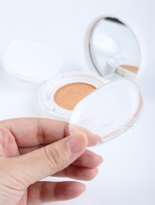 Silicone Oval Maquillage éponge - Transparent