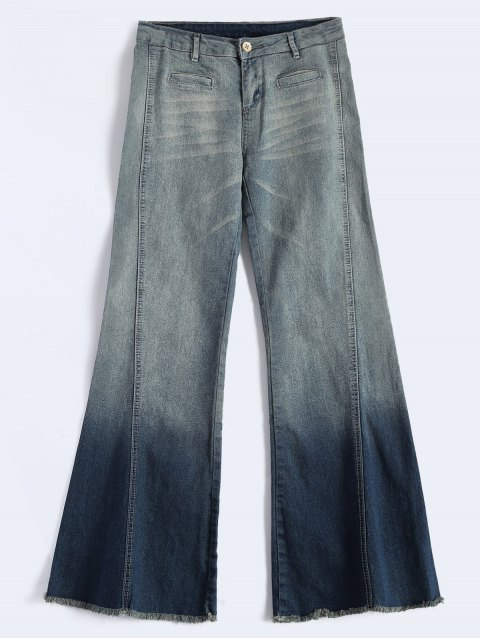 outfits Bell Bottom Jeans - BLUE L Mobile