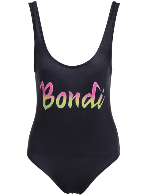 outfit Padded Scoop Neck Bondi Swimwear - BLACK M Mobile