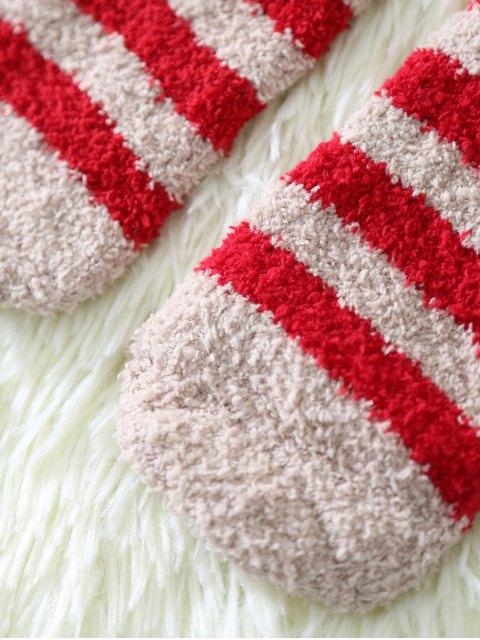 affordable Cartoon Deer Coral Fleece Socks -   Mobile