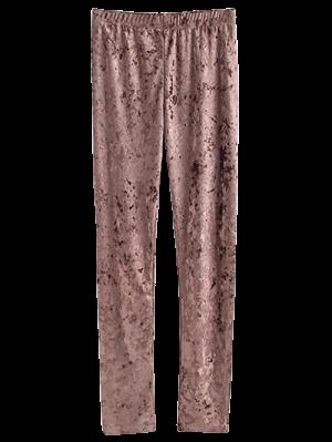 Skinny Velvet Leggings