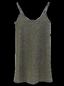 Glitter Slip Mini Dress