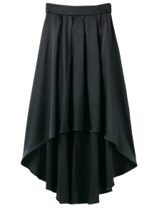 Bowknot Asymmetrical Skirt