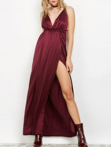 Backless Empire Waist Evening Prom Dress