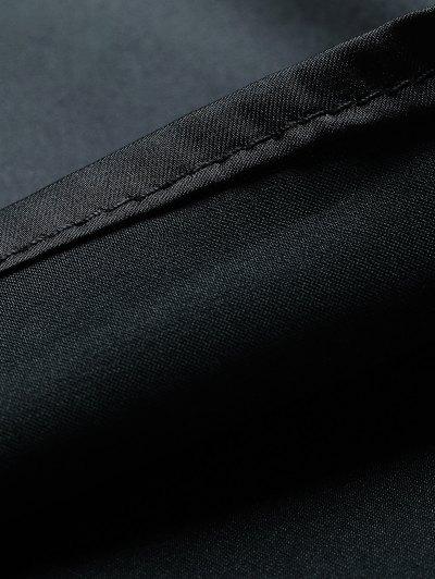 Adjusted Satin Camisole - BLACK S Mobile