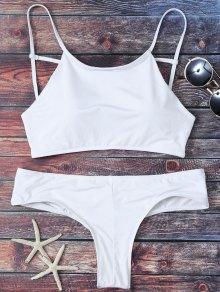 Cute Padded Criss Cross Bathing Suit