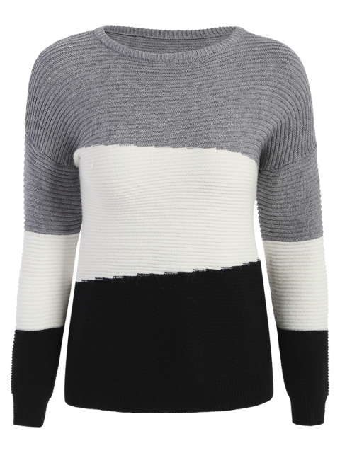 women Oversized Comfy Sweater - BLACK ONE SIZE Mobile