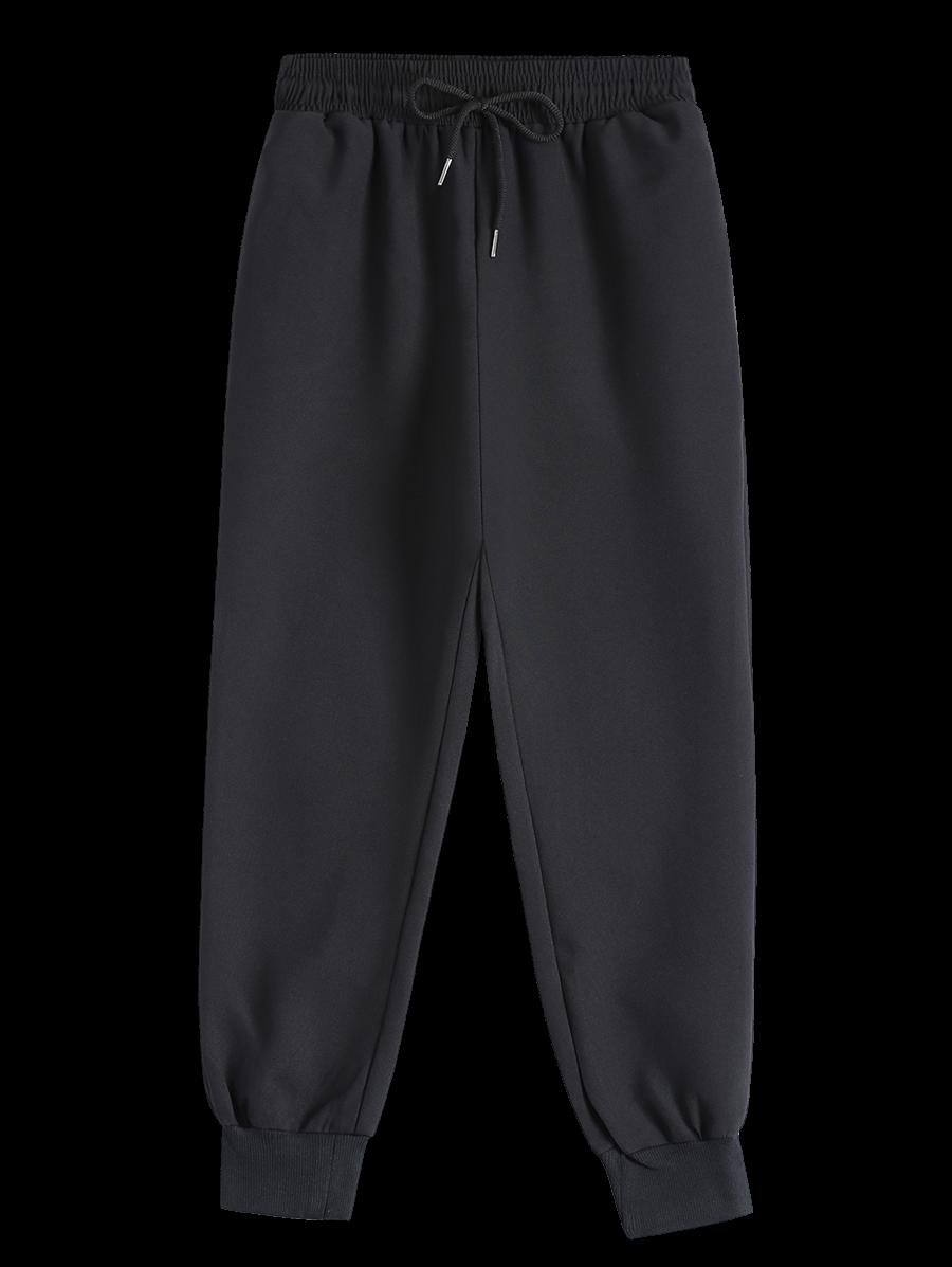 Drawstring Design Jogging Pants 195687901