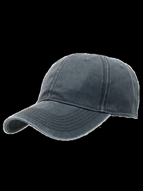 buy Water Wash Do Old Baseball Hat - DEEP GRAY