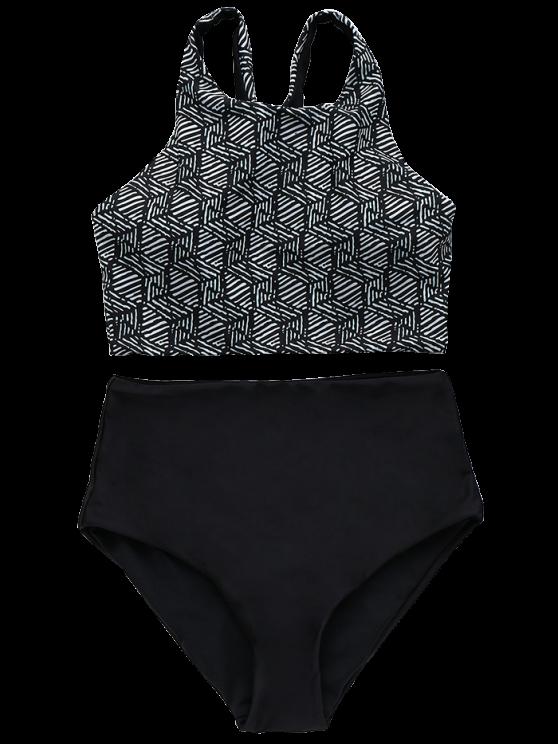 High Rise Bikini Set - COLORMIX M Mobile
