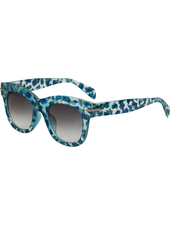 shop Geometry Icons Sunglasses - LIGHT BLUE