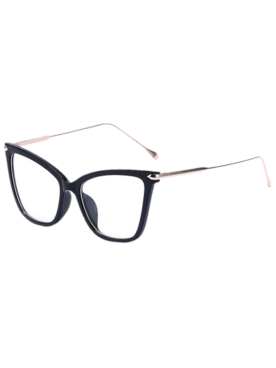latest Charming Black Butterfly Sunglasses - TRANSPARENT