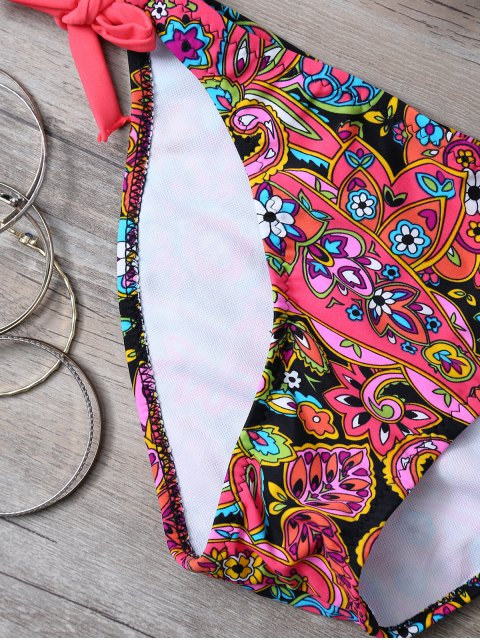 Imprimer Side-Tie Bikini - Tangerine M Mobile