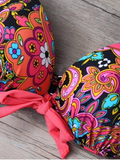 Imprimer Side-Tie Bikini - Tangerine L Mobile