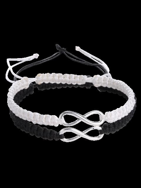 trendy Infinity Woven Bracelets -   Mobile