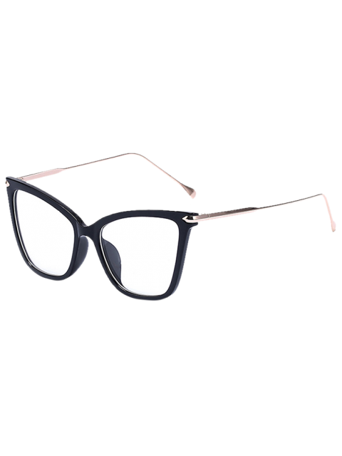 latest Charming Black Butterfly Sunglasses - TRANSPARENT  Mobile