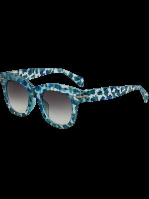 Geometry Icons Sunglasses - Light Blue