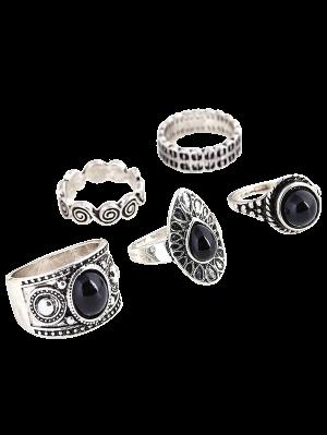 Water Drop Rings - Silver
