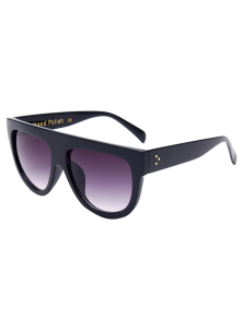 Simple Full-Rim Black Sunglasses