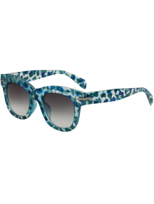 Geometry Icons Sunglasses - Light Blue