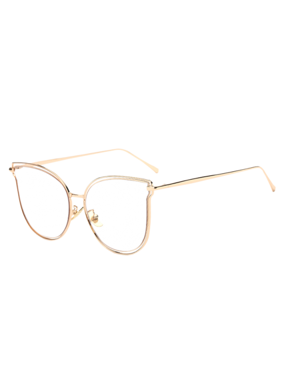 online Hollow Out Butterfly Shaped Sunglasses - TRANSPARENT