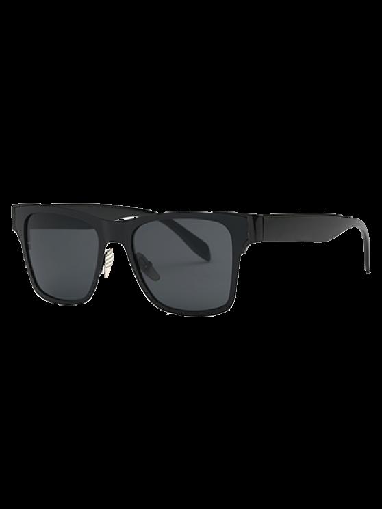 online Black Wayfarer Sunglasses - BLACK