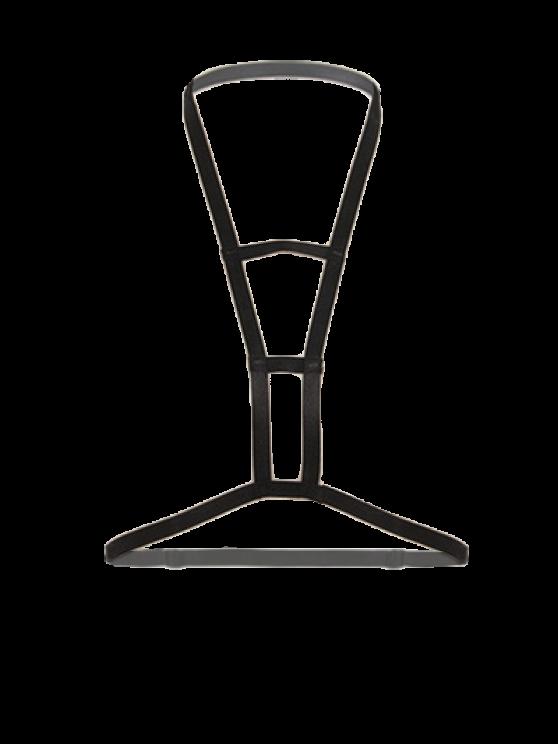 Cut Out Bra Bondage Harness Body Jewelry -   Mobile