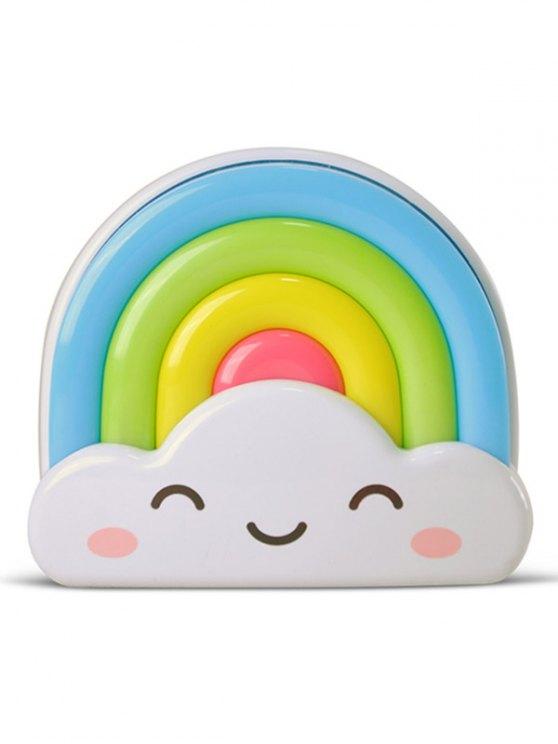 Creative Mini Voice Control Rainbow LED Night Light - COLORFUL  Mobile
