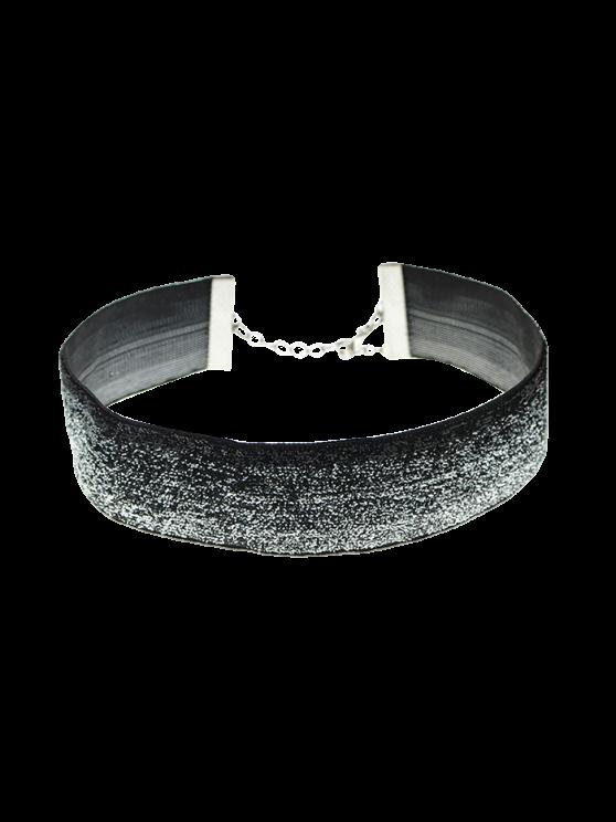 Adorn Velvet Necklace -   Mobile