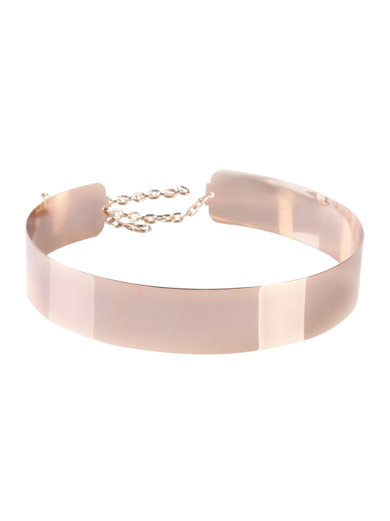 Mirrored Waist Belt - ROSE GOLD  Mobile