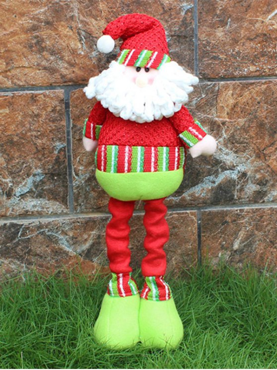 Christmas Party Decorative Stretched Santa Puppet Toy -   Mobile