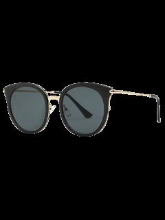 Cat Eye Black Sunglasses - Black