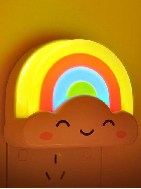 Creative Mini Contrôle vocal arc-en-LED Night Light - Coloré  Mobile