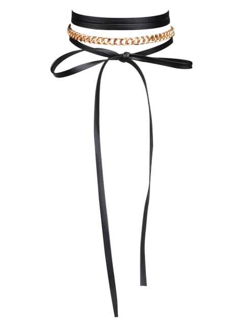 shop Bowknot Chain Necklace -   Mobile